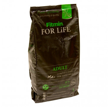 FITMIN FOR LIFE ADULT ALL BREEDS 3KGS.