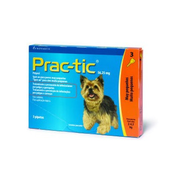 PRAC-TIC DE 2 A 4.5 KG (3 PIPETAS)