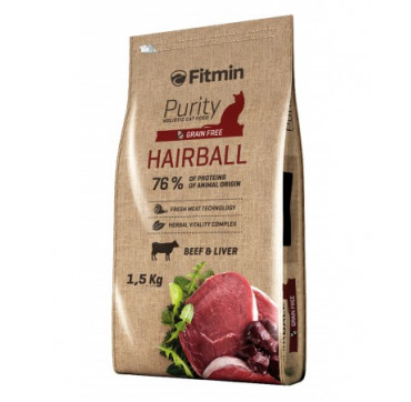 FITMIN CAT PURITY hairball 1.5KGS.