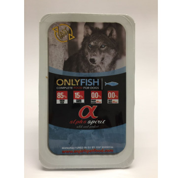 ALPHA SPIRIT ALIMENTO ONLY FISH 210GRS.