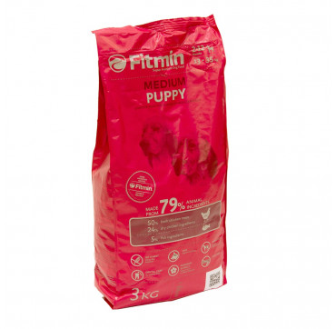 FITMIN MEDIUM PUPPY 3KGS.
